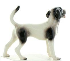 Hagen Renaker Dog Coonhound Happy Hound Ceramic Figurine image 5