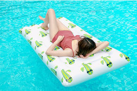 Adults Big Cactus Inflatable Pool Raft Water Bed Hammock Ride On Float Tube image 4