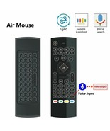 TV Smart Remote Control Backlit Air Mouse T3 2.4G RF Wireless Keyboard A... - $29.60+