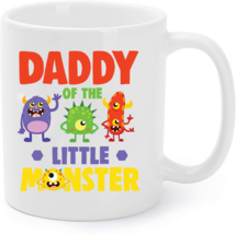 Daddy Of The Little Monster Birthday Family Monster Coffee Mug - $15.95
