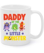 Daddy Of The Little Monster Birthday Family Monster Coffee Mug - €14,07 EUR