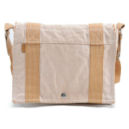 HERMES Ale Line Vasus PM Canvas Shoulder Bag Auth 3267 image 2