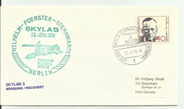 SKYLAB 1&2 GERMAN SPACE COVER BERLIN GERMANY 6/22/1973 - $1.98