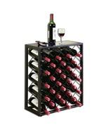 Wine Rack Steel Liquor Bottle Holder Storage Display Floor Furniture Hom... - $145.99