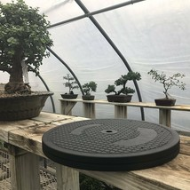 """Bonsai Outlet Stainless Steel Tree Plant Turntable 12.5"""" Base 200 Pound Capacity - $98.97"""
