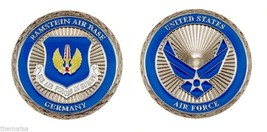 "RAMSTEIN AIR FORCE BASE GERMANY 1.75"" CHALLENGE COIN AIR FORCES IN EUROPE - $18.04"