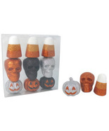 Decorative Fillers Halloween The Midnight Market Set Of 9: Skull Candy P... - $19.99