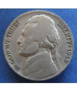 1939 D Thomas Jefferson Nickel Coin - (sku#4884) - $8.99