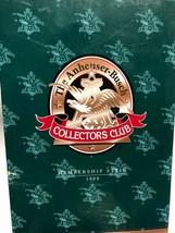 Beer Stein CB7 Budweiser Old World Heritage 1998 Membership - $24.75