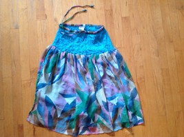 Natural Choice Multi Colored Skirt  Free Size/ One Size with Elastic Draw String - $16.82