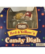 Official M & M Red & Yellow's Collectible Candy Dish [Brand New] - $46.99