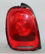 14 15 16 17 18 MINI COOPER LEFT DRIVER SIDE TAIL LIGHT W/O LED OEM - $108.89