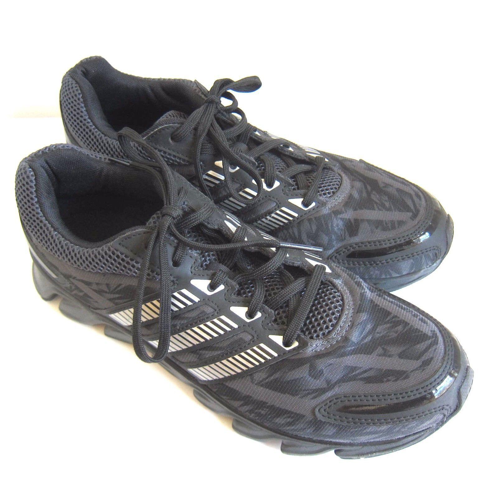 promo code adbd4 a86a0 C-1347 New Adidas Black Nylon Adiprene + and 50 similar items