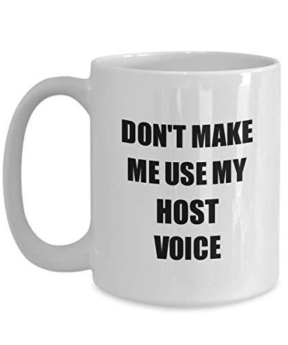 Primary image for Host Mug Coworker Gift Idea Funny Gag for Job Coffee Tea Cup 15 oz