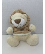 Angel Dear FunBath 2004 small plush cream yellow tan lion squeaky baby t... - $9.89
