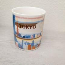 Starbucks 2014 Tokyo Japan Ceramic Collector's Series Coffee Mug City Scene - $39.59