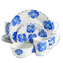 Gibson Home Classic Riviera 16 Piece Dinnerware Set in Floral Print - $63.82