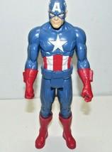 "Figurine Marvel Captain America Avengers ActionFigures  11"" - $14.12"