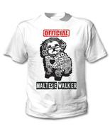 Maltese - official walker b - NEW COTTON WHITE TSHIRT - $19.53