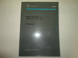 1994 Mercedes Modelle 124 129 140 Preliminary Einführung Into Service Ma... - $44.50