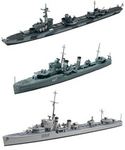 3 Tamiya Destroyers – O Class British, Australian Vampire and German Z C... - $42.56