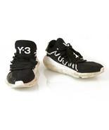 Y-3 Adidas Yohji Yamamoto Kusari Black White Sole Sneakers Trainers shoe... - $58.41