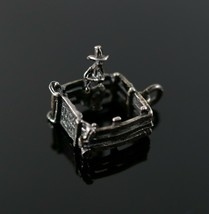 """Sterling Silver 3-D Mobile /""""Fence ME IN/"""" CHARME"""