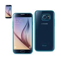 REIKO SAMSUNG GALAXY S6 FRAME CASE IN SHINY BLUE - $8.08