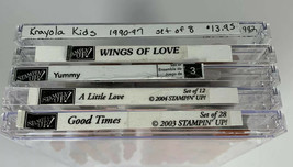 Stampin' Up! Krayola Kids, Wings Of Love, Yummy, A Little Love, Good Times - $14.30