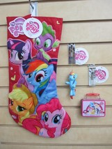 My Little Pony Christmas Stocking & Two Ornaments - Luna & Mini Lunchbox - $29.95