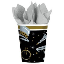 Black Tie Affair 36 Ct Paper 9 oz Cups New Years Eve - $10.44