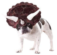 Triceratops Medium Dog Costume Halloween Dress up Headpiece Hat M Animal... - $16.99