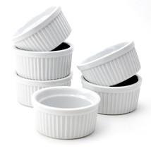 White Ramekins,4 oz Ramekin Cups , Ramekin Dishes, Set of 6 - $373,73 MXN