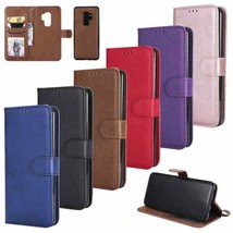 For Samsung Galaxy J7 J8 J2 Pro 2018 Magnet Leather Card Wallet Stand Case Cover - $46.24