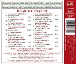 Hear My Prayer  Cd image 2