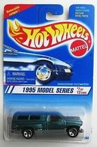 Hot Wheels Dodge Ram 1500 1995 New Models #7 Moc Green sp5 Mosc - $2.47