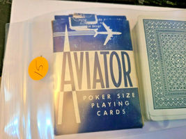 Blue Aviator Poker 914 Deck of Playing Cards   (#015) image 5