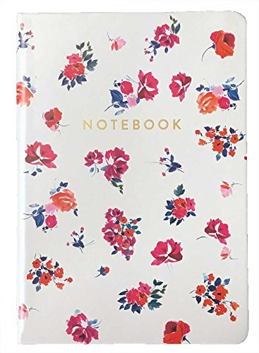 Eccolo 6 x 8 Inches Style Journal in Faux Leather (Floral Large)