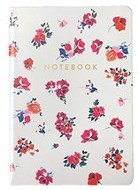 Eccolo 6 x 8 Inches Style Journal in Faux Leather (Floral Large) - $14.84