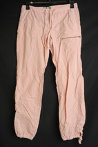 Old Navy Pink Casual Pants 10 Low Waist Rip Stop - $15.00