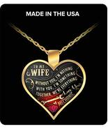 to My Wife Necklace Love You Mechanic - Husband and Wife Necklace - Best... - $29.65