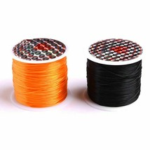 Elastic Steel Cord Length Different Color Green Gold Black Stretchy For ... - $9.47