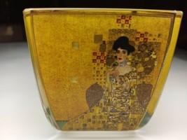 Goebel  Artis Orbis Klimpt Candleholder - $14.85