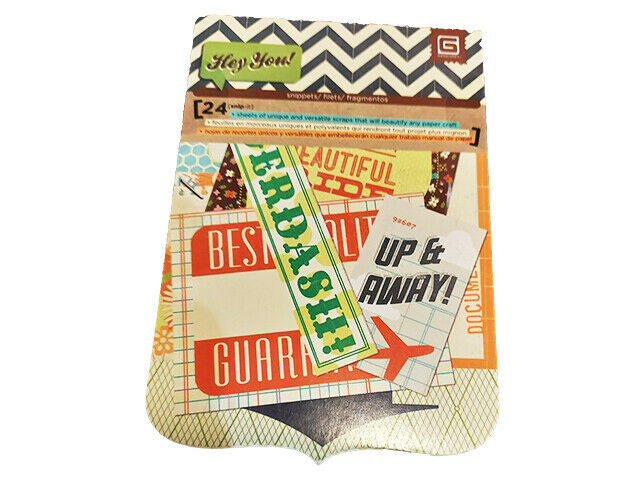 BasicGrey Hey You! Cardstock Snippets Pad #BBA-4008