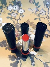 Lot Of 3 Tubes,  Rimmel The Only One Lipstick 620 Call Me Crazy, Red - $14.80