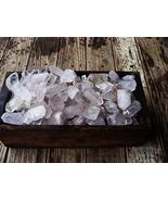 1 Pck of 3000 Carat Lots of Unsearched Quartz Crystal Points + a Free Fa... - $43.11