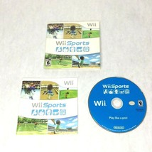 Wii Sports (Nintendo Wii, 2006) Game, Manual And Cardboard Case - $23.36