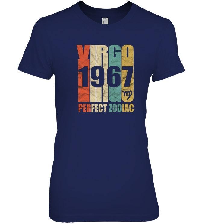 Vintage Virgo 1967 T Shirt 50 yrs old Bday 50th Birthday Tee