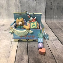 AGC American Greetings Baby's First Christmas 1996 Toy Box Chest Boy Orn... - $42.06