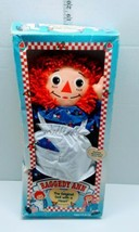 RAGGEDY ANN 1996 Johnny Gruelle The Original Doll With a Heart In Box 18... - $14.84